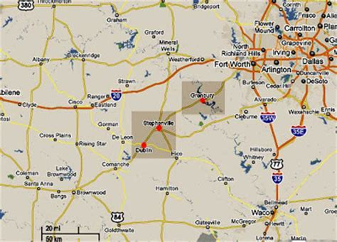 dublin texas map ufos lights in the texas sky more lights in dublin stephenville texas 3 4 2010