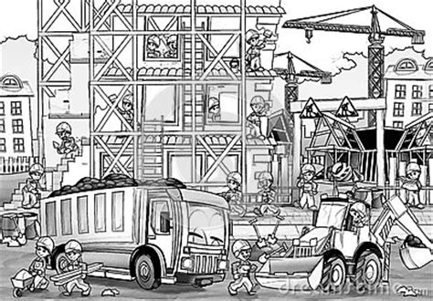 Building Construction Coloring Pages