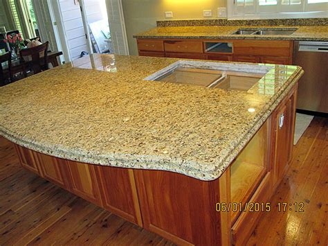 kitchen island granite countertop granite kitchen countertop island crafted countertops