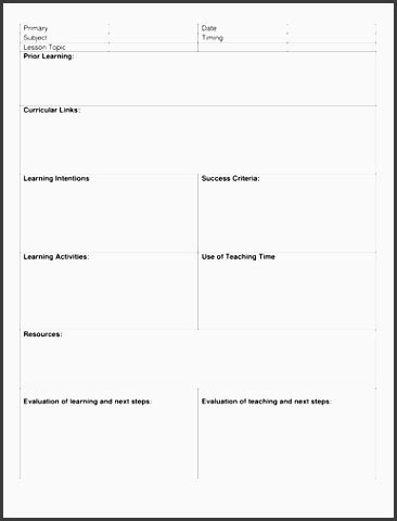 8 step lesson plan template 10 academic lesson planner template sletemplatess