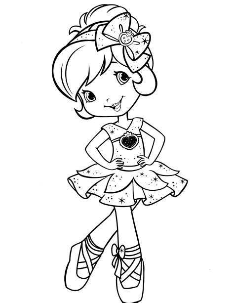 Free Coloring Pages Of Strawberry Shortcake Baby Strawberry Shortcake Coloring Pages Free