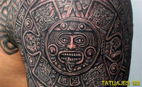 Calendario Azteca Tatuajes Significado De Los Tatuajes Aztecas Tatuajes 123
