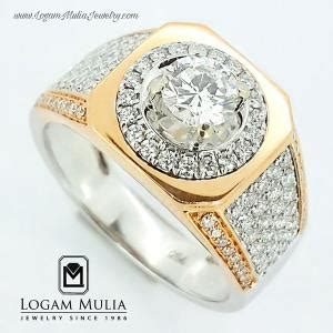 Cincin Berlian Solitaire Pria 1005 jual cincin berlian wanita cincin berlian pria elegan