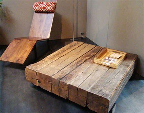 Salvaged Furniture by Andr 233 Joyau S Salvaged Wood Furniture Celebrates Reclaimed