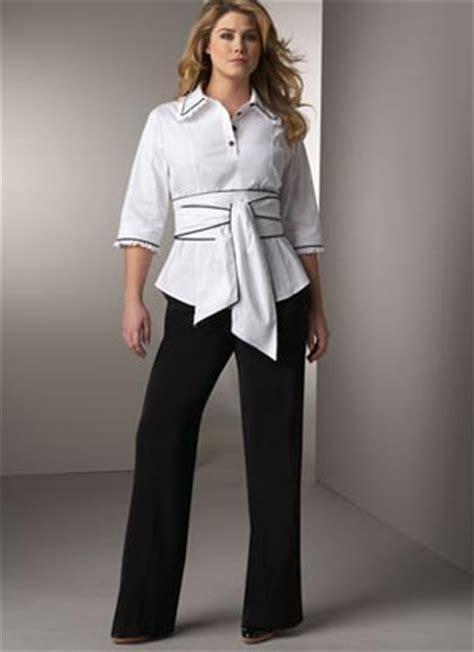 Conjuntos de pantalon y blusa para coctel para gorditas 4