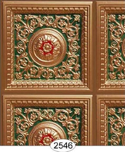 gold wallpaper panels dollhouse wallpaper ceiling rosette panel gold green