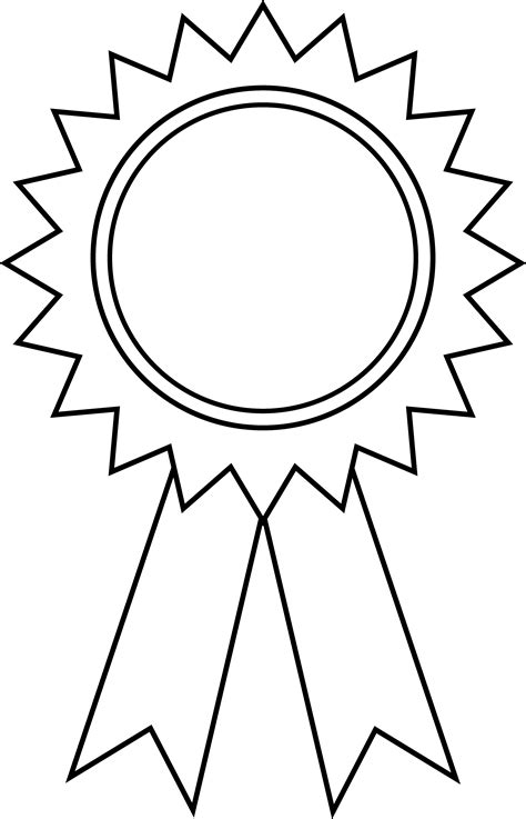 Can I Use Outline Offset by Printable Medal Outline Clipart Best
