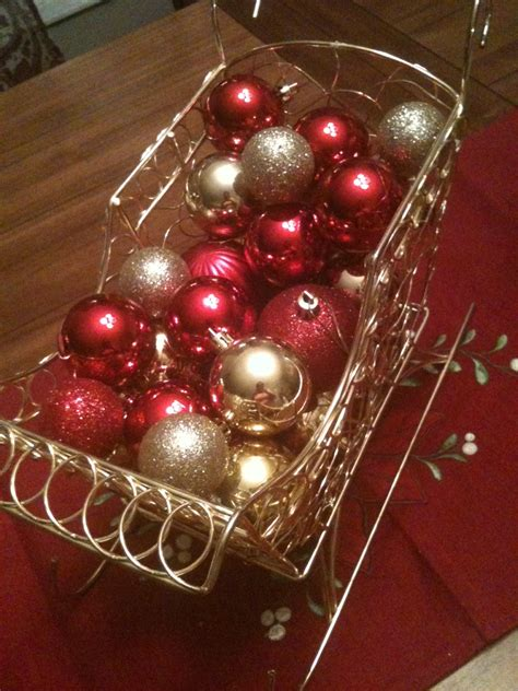 centerpieces with ornaments a cheap centerpiece salted chocolate