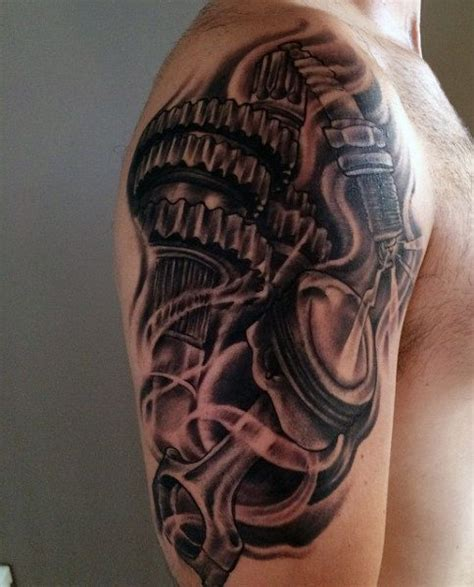 automotive tattoos 70 car tattoos for cool automotive design ideas