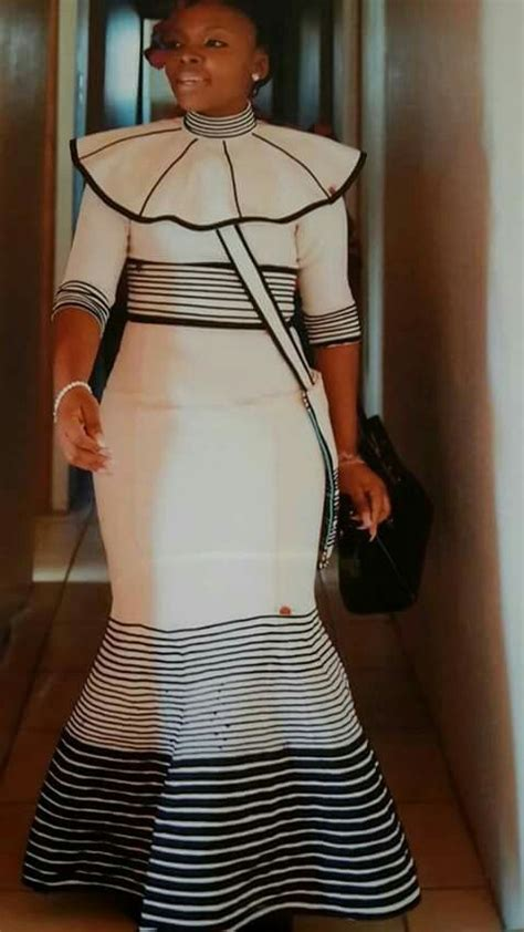 xhosa design dress short sleeves collars and traditional on pinterest