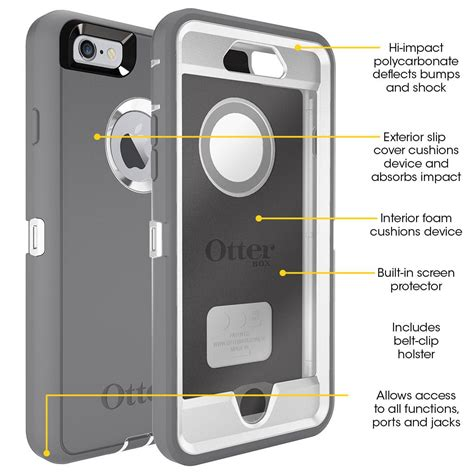 amazoncom otterbox defender series iphone