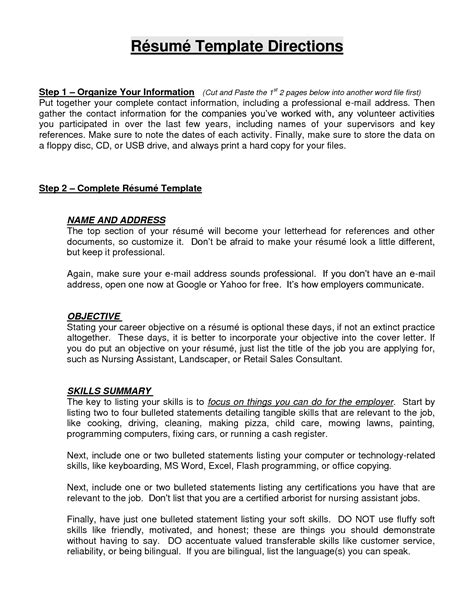 resume profile section exles profile section of resume