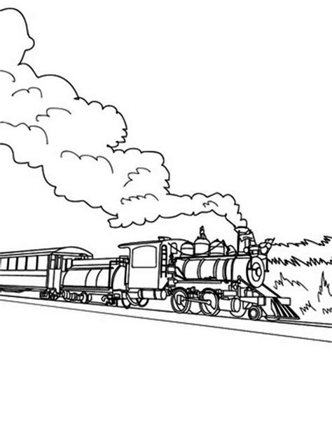 long train coloring page color selected colors 14 train coloring pages click the