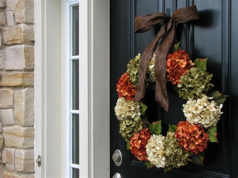 front door wreath ideas fall hydrangea wreaths front door wreaths wreaths by