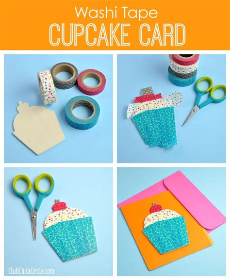 washi crafts 25 best ideas about cupcake card on paper