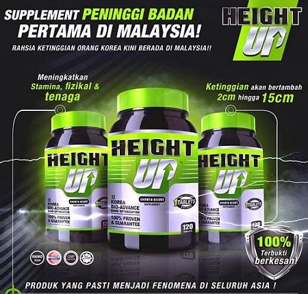 Suplemen Height Up Di Farmasi Height Up Growth Height Supplement