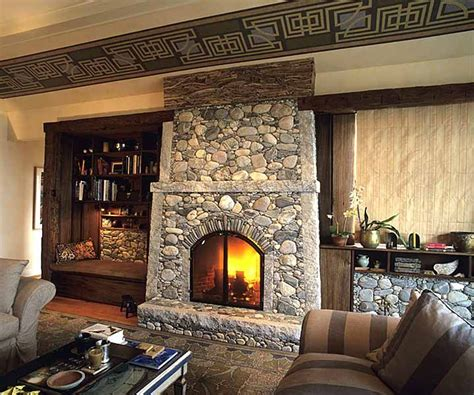 fireplace rocks stones 63 best images about fireplaces on porch and