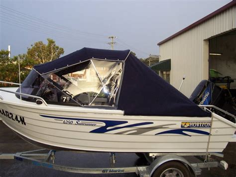 Boat Awnings by Boat Canopies Undercover Canvas