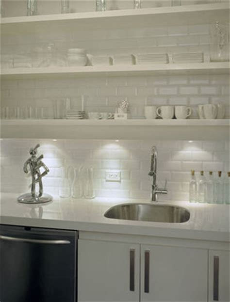 white kitchen tile white beveled subway tile contemporary kitchen