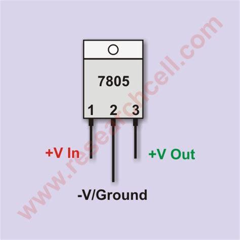 ic 7805 pin diagram 7805 pins diagram