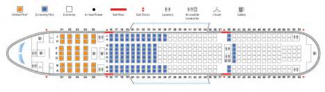 Boeing 777 Floor Plan Pics Photos Boeing 777 200 United Seating Chart Boeing