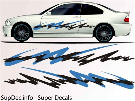 Auto Body Decals by Vinyl Auto Body Graphics Exterior Outside Decal Sticker B784