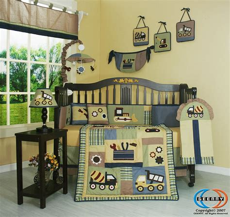 construction crib bedding unique baby boy construction crib bedding set the ignite