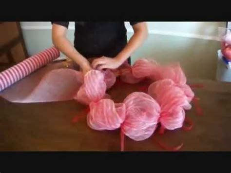 tutorial video making making wreaths the crafty way youtube