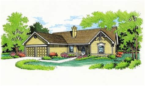 Garage Design 3679 by Featured House Plan Pbh 3679 Professional Builder