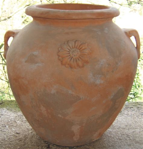 vaso di terracotta i vasi in terracotta