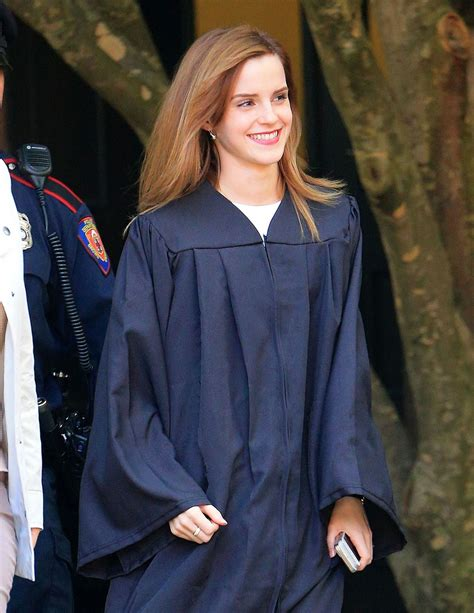 emma watson graduation emma watson graduates from brown university in providence