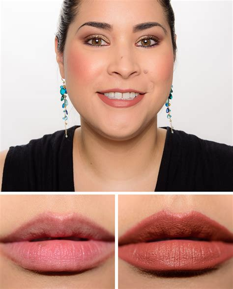 downward review mac me lipstick review photos swatches