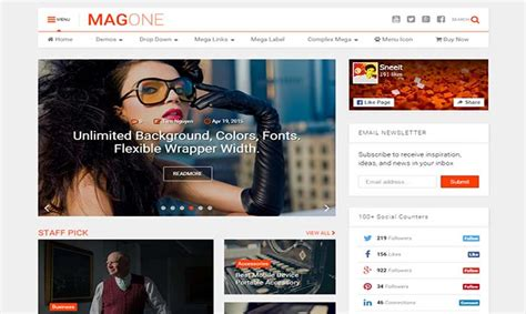blogger themes protemplateslab magone blogger template