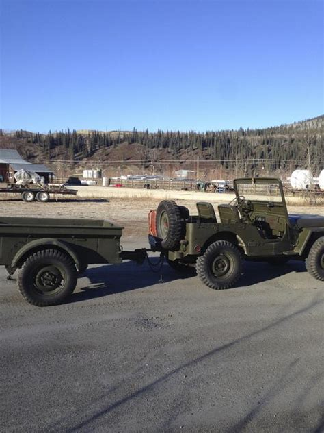 Jeep Dawson Creek 1952 M 38cdn Dawson City Canada 17 000cdn Ewillys