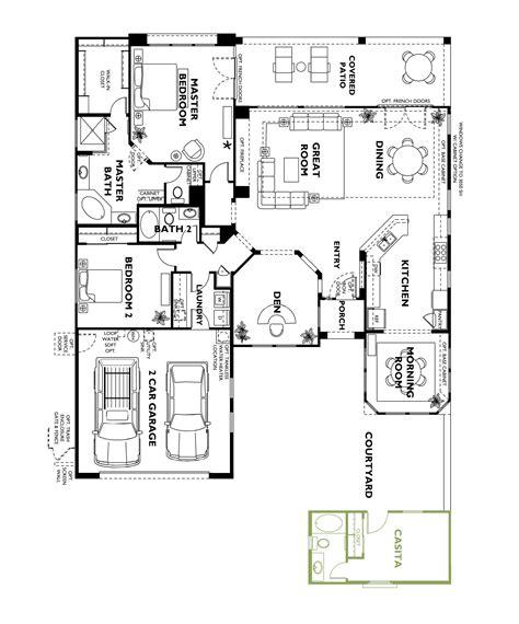 casita floor plans trilogy at vistancia cadiz floor plan model home with