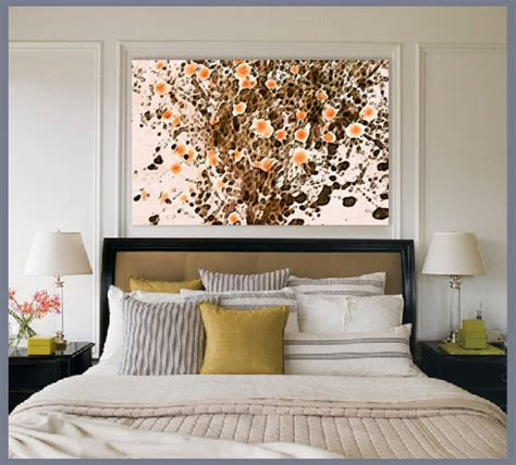artwork for bedroom blooming desert no 1 canvas giclee print wall art