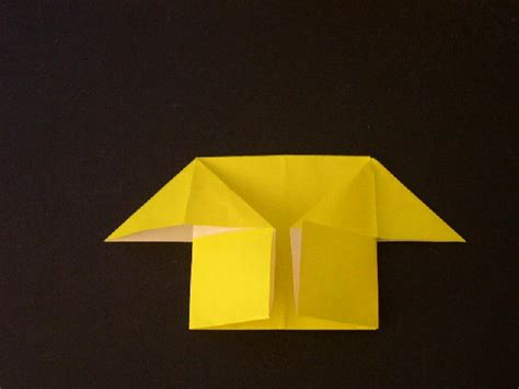 Paper House Origami - easy origami for how to make an easy origami house