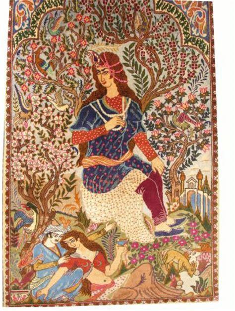 Lalya Majnun majnun and layla pictorial rugs carpetbeggers