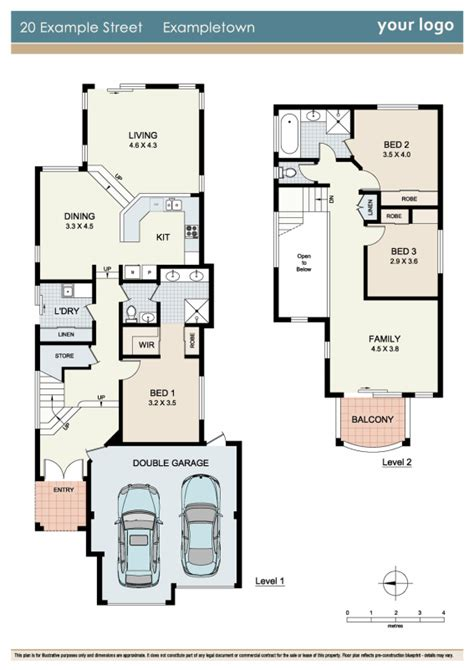 real estate floor plan floorplan sle 1 zigzag floorplans for real estate marketing