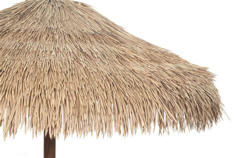 The Hut Restaurant And Tiki Bar How It S Made Palapa Thatch Roofing Synthetic Thatch