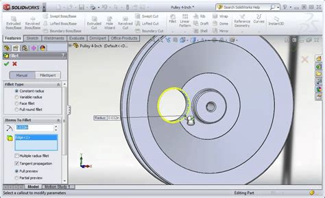 circular pattern solidworks youtube solidworks 2012 circular patterns youtube