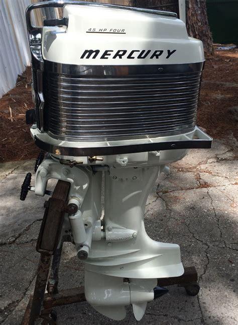 old boat motors values mercury 400s 45 hp outboard vintage motor for sale