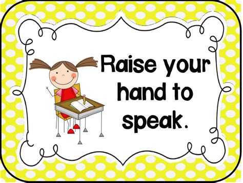 printable toddler classroom rules kindergarten kids at play management monday classroom