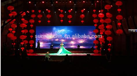 Indoor Rental Led Display Music Live Show Video Wall