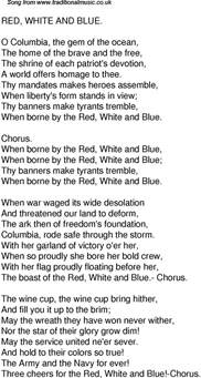 lyrics to colors time song lyrics for 49 white and blue