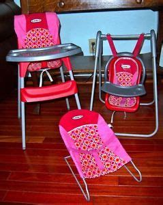 Graco Doll High Chair Set by New Graco 5 In 1 Baby Doll Playset Stroller High Chair