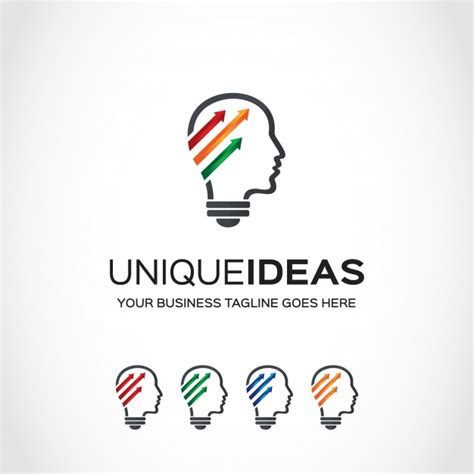ideas logo idea logo design vector free