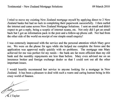 Mortgage Broker Letter Of Recommendation Mortgages Study