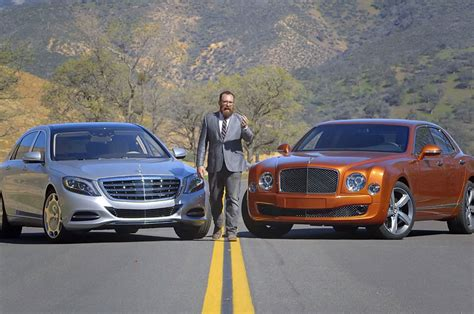 maybach bentley 2016 mercedes maybach s600 and bentley mulsanne speed photo 1