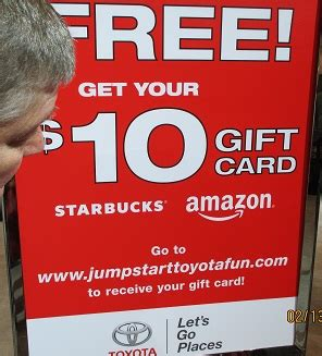 Toyota Test Drive Gift Card 2017 - my business click here for your chicago auto show guide freebies checklist